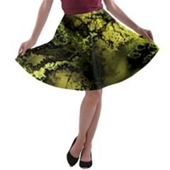 Amazing Fractal 24 A Line Skater Skirt
