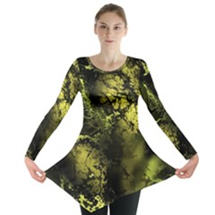 Amazing Fractal 24 Long Sleeve Tunic