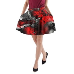 Amazing Fractal 25 A Line Pocket Skirt