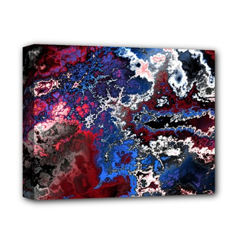 Amazing Fractal 28 Deluxe Canvas 14  x 11