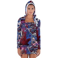 Amazing Fractal 28 Women s Long Sleeve Hooded T-shirt
