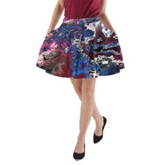 Amazing Fractal 28 A Line Pocket Skirt