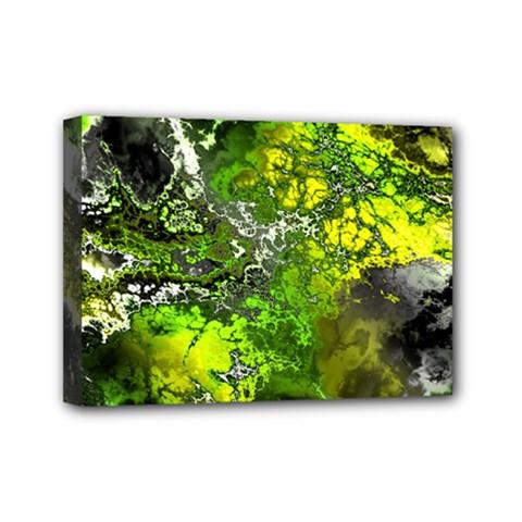Amazing Fractal 27 Mini Canvas 7  x 5