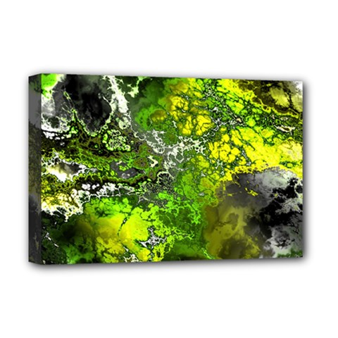 Amazing Fractal 27 Deluxe Canvas 18  x 12