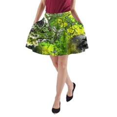 Amazing Fractal 27 A-Line Pocket Skirt