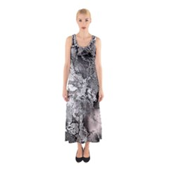 Fractal 29 Sleeveless Maxi Dress