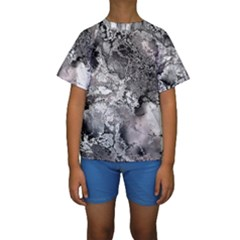 Fractal 29 Kid s Short Sleeve Swimwear