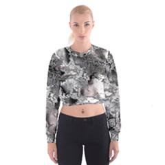 Fractal 29 Women s Cropped Sweatshirt