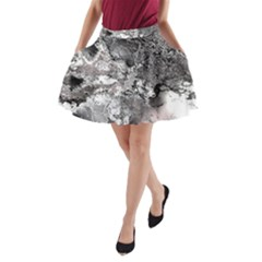 Fractal 29 A-Line Pocket Skirt