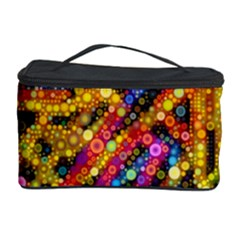 Color Play in Bubbles Cosmetic Storage Cases