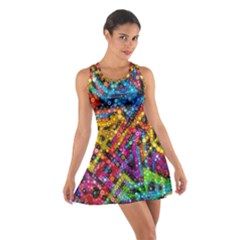 Color Play in Bubbles Racerback Dresses