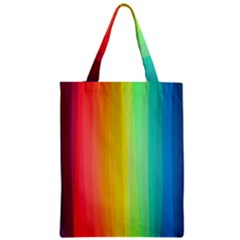 Sweet Colored Stripes Background Zipper Classic Tote Bag