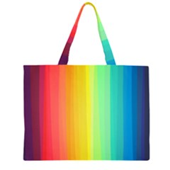 Sweet Colored Stripes Background Large Tote Bag