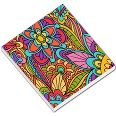 Festive Colorful Ornamental Background Small Memo Pads