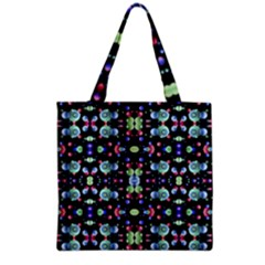 Multicolored Galaxy Pattern Grocery Tote Bag