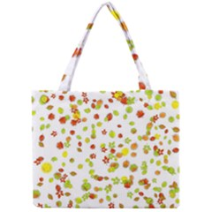 Colorful Fall Leaves Background Mini Tote Bag
