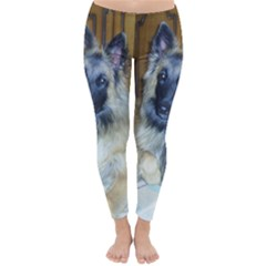 Puppy Belgian Tervueren Winter Leggings
