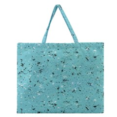 Abstract Cracked Texture Zipper Large Tote Bag