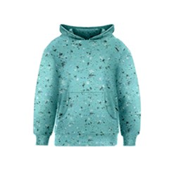Abstract Cracked Texture Print Kids  Pullover Hoodie