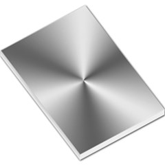 Shiny Metallic Silver Large Memo Pads