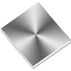 Shiny Metallic Silver Small Memo Pads