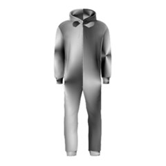 Shiny Metallic Silver Hooded Jumpsuit (Kids)