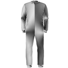 Shiny Metallic Silver OnePiece Jumpsuit (Men)