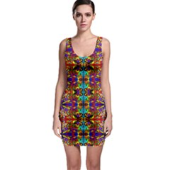 PSYCHIC AUCTION Sleeveless Bodycon Dress