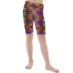 PSYCHIC AUCTION Kid s Mid Length Swim Shorts