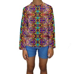 PSYCHIC AUCTION Kid s Long Sleeve Swimwear