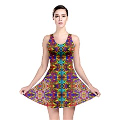 PSYCHIC AUCTION Reversible Skater Dress