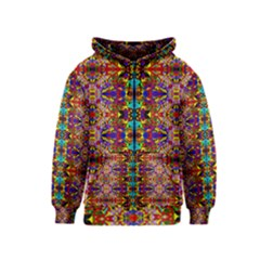 PSYCHIC AUCTION Kids  Zipper Hoodie