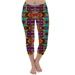PSYCHIC AUCTION Capri Winter Leggings