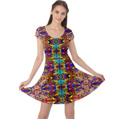 PSYCHIC AUCTION Cap Sleeve Dresses