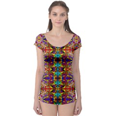 PSYCHIC AUCTION Boyleg Leotard (Ladies)