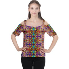 PSYCHIC AUCTION Women s Cutout Shoulder Tee