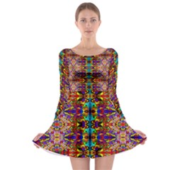 PSYCHIC AUCTION Long Sleeve Skater Dress