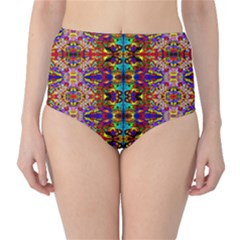 PSYCHIC AUCTION High-Waist Bikini Bottoms