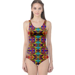PSYCHIC AUCTION One Piece Swimsuit