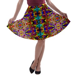 PSYCHIC AUCTION A-line Skater Skirt