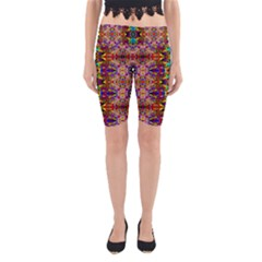 PSYCHIC AUCTION Yoga Cropped Leggings