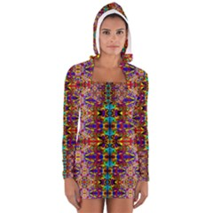 Psychic Auction Women s Long Sleeve Hooded T Shirt