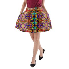 PSYCHIC AUCTION A-Line Pocket Skirt