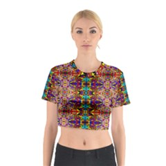 PSYCHIC AUCTION Cotton Crop Top