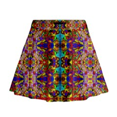 Psychic Auction Mini Flare Skirt