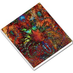 Boho Bohemian Hippie Floral Abstract Small Memo Pads