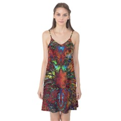 Boho Bohemian Hippie Floral Abstract Camis Nightgown
