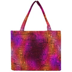 Purple Orange Pink Colorful Mini Tote Bag