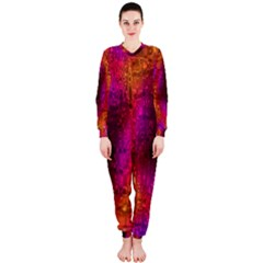 Purple Orange Pink Colorful OnePiece Jumpsuit (Ladies)
