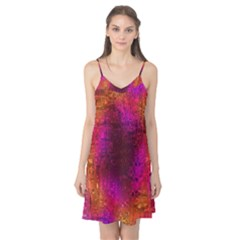 Purple Orange Pink Colorful Camis Nightgown